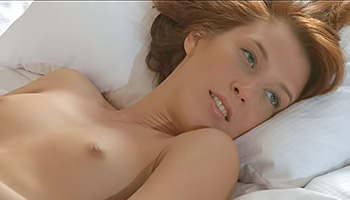 Brunettes sweet shower is sensual