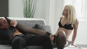Sweet blonde likes various sexual games