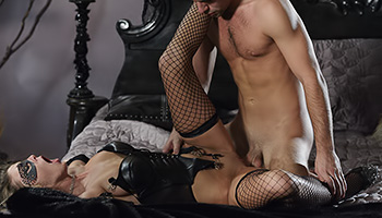BDSM loving babe gets fucked hard